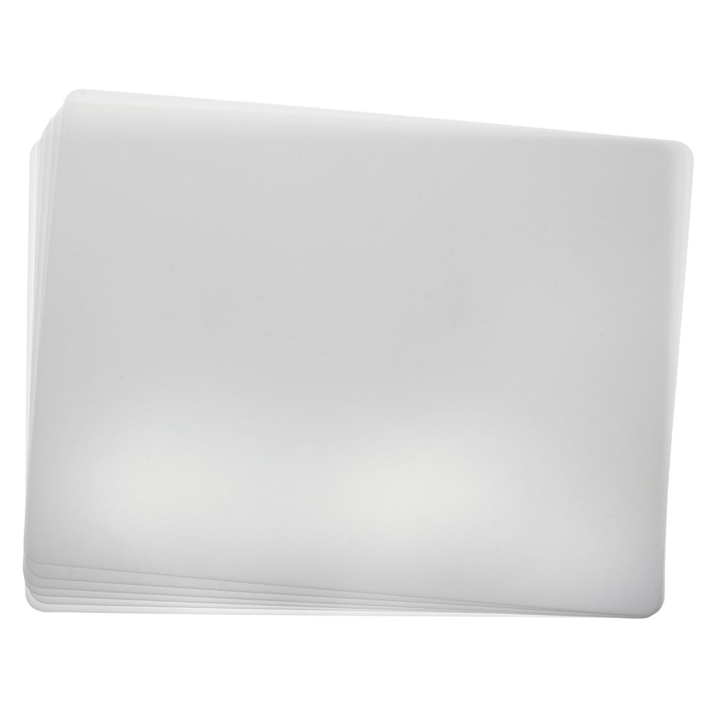 BOARD, CUTTING, 24X18 WHITE, DISPOSABLE 6/S