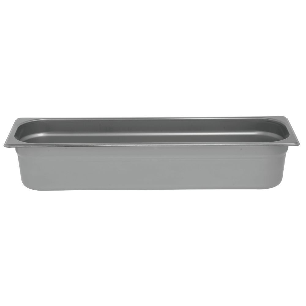 "Hubert® Half Size Steam Table Pan Long 4""D"