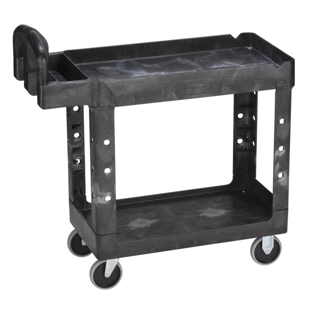 CART LIP SHELF BLACK 39X17875X3325
