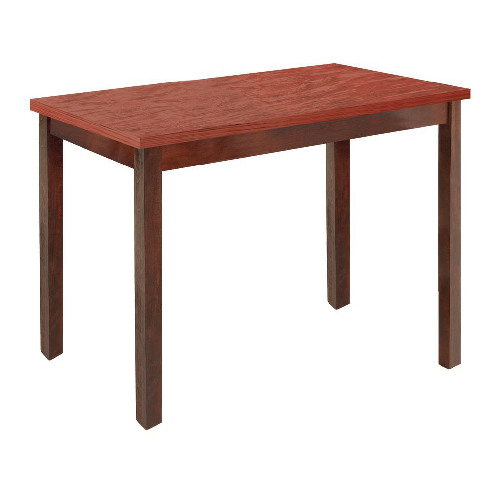 Expressly HUBERT® Mahogany Wood Frame with Cherry Top Nesting Table ...