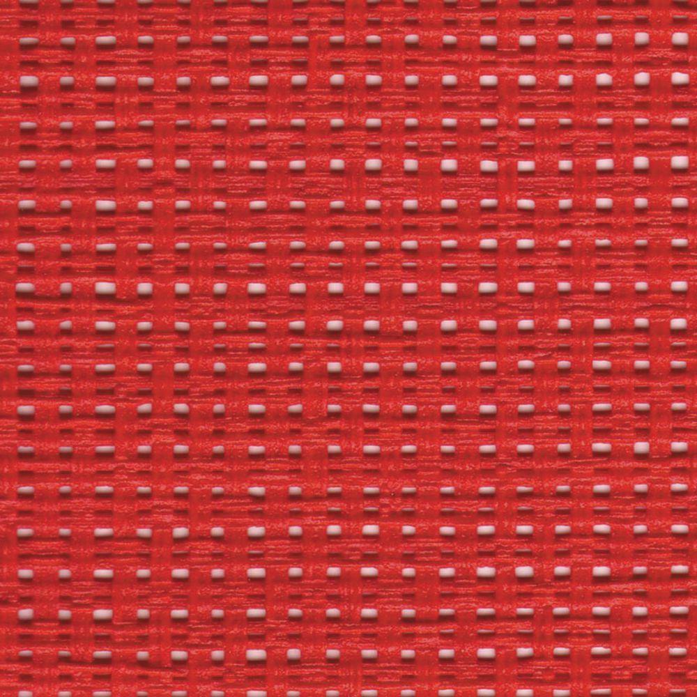MATTING, WICKER, RED, WASHABLE, 3'X30'