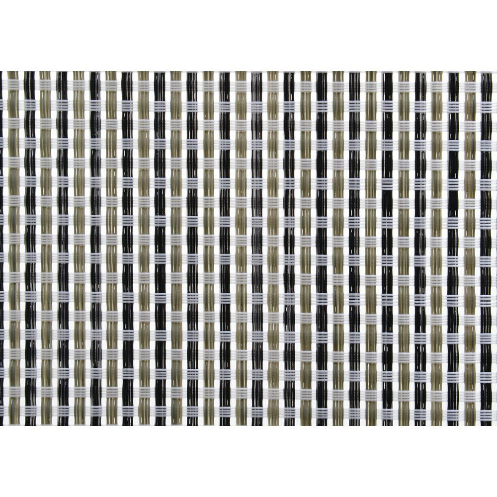 MATTING, BASKETWEAVE, SMALL, SILVER, 20X48