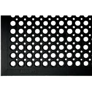 MAT KITCHEN, 3'X5', BLACK, ECONOMY, HUBERT