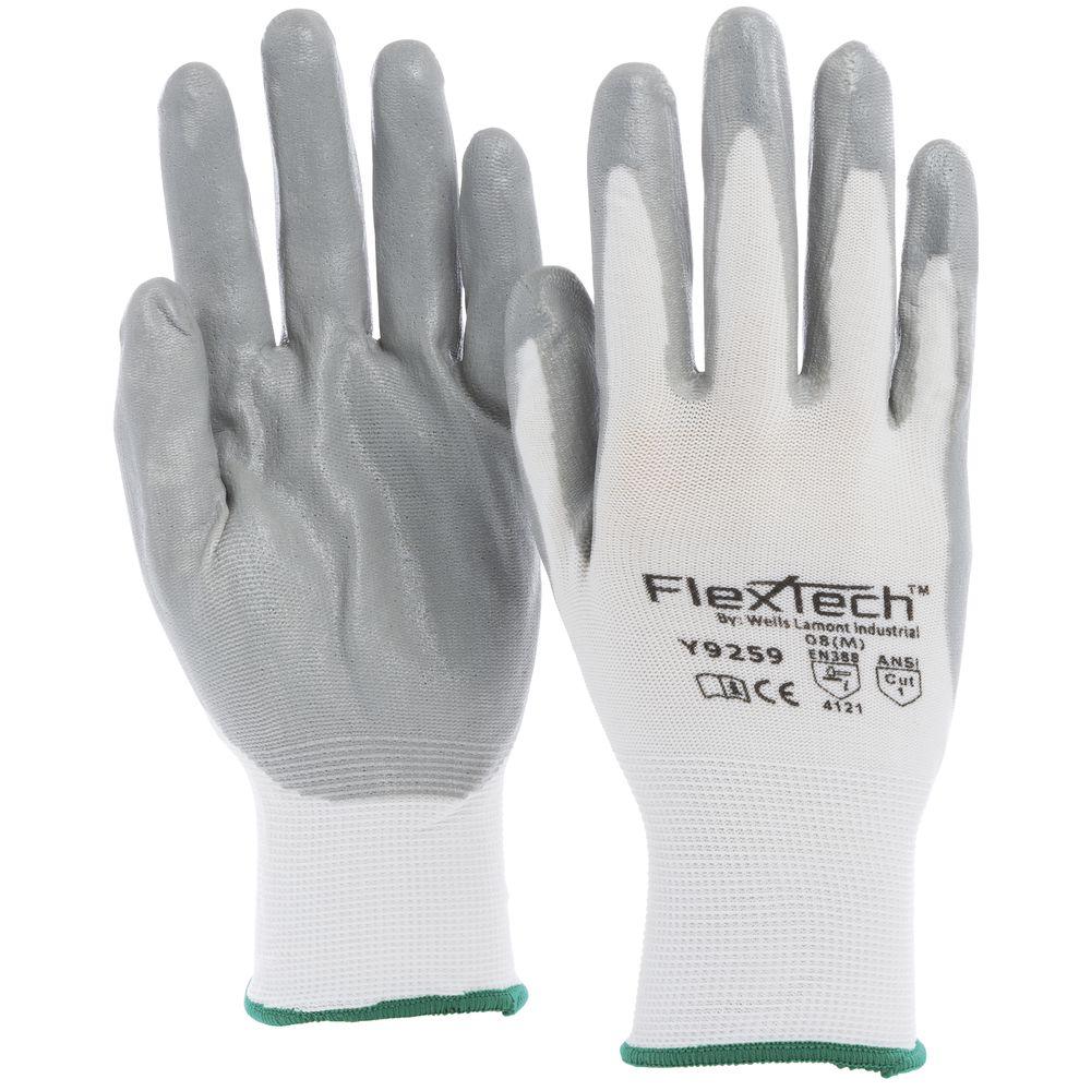 Tucker Safety FlexTech™ Work Gloves with Nitrile Palm Medium