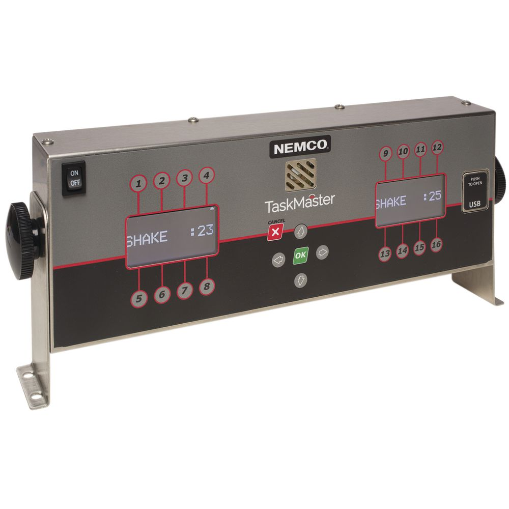 TIMER, TASKMASTER, 16-CHANNEL, TWIN DISPLAY