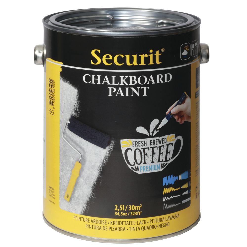 Black Chalkboard Paint 2 5 Liter