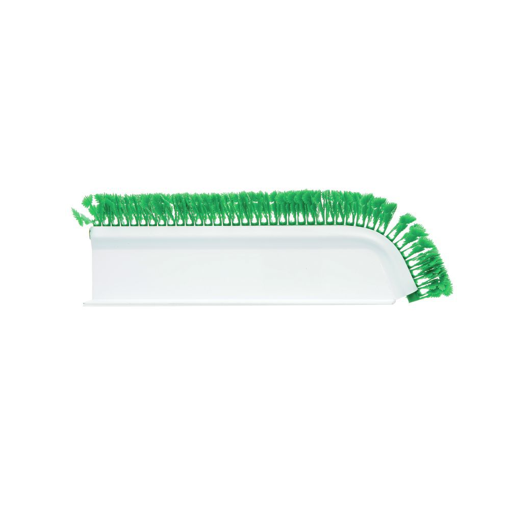 """Angled White T-Shaped Plastic Divider With Green Parsley 16""""L x 3 1/2""""H"""