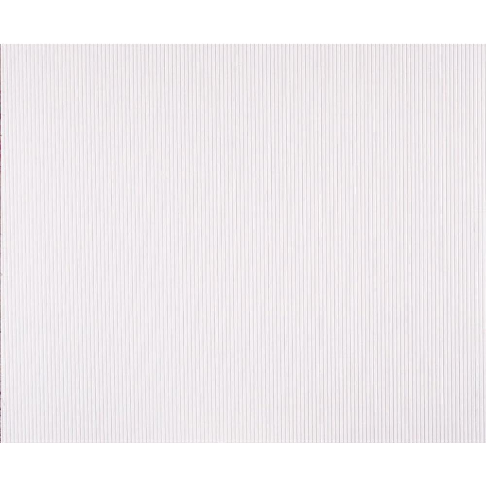 """Corobuff Counterwrap Solid White 25'L x 48""""W Corrugated Paper"""