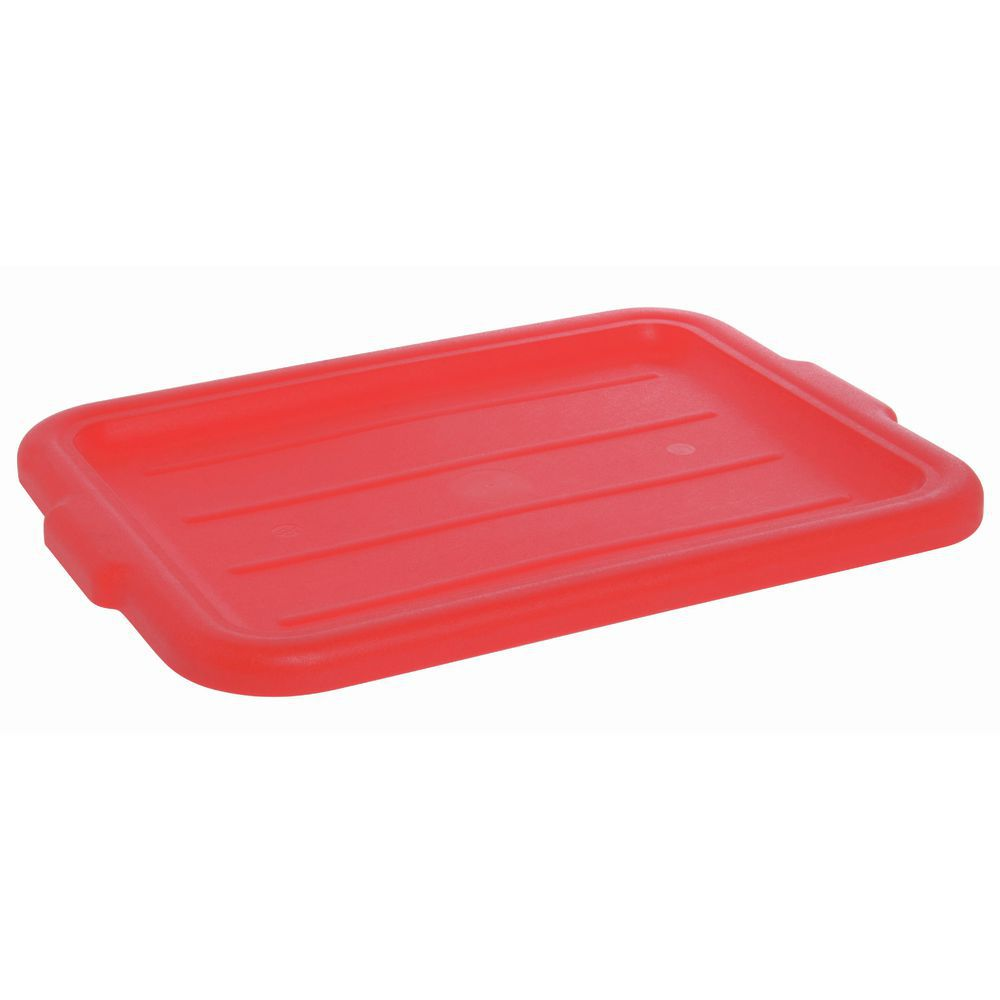 "Carlise Spectrum Lid for 20"" x 15"" Food Box Red"