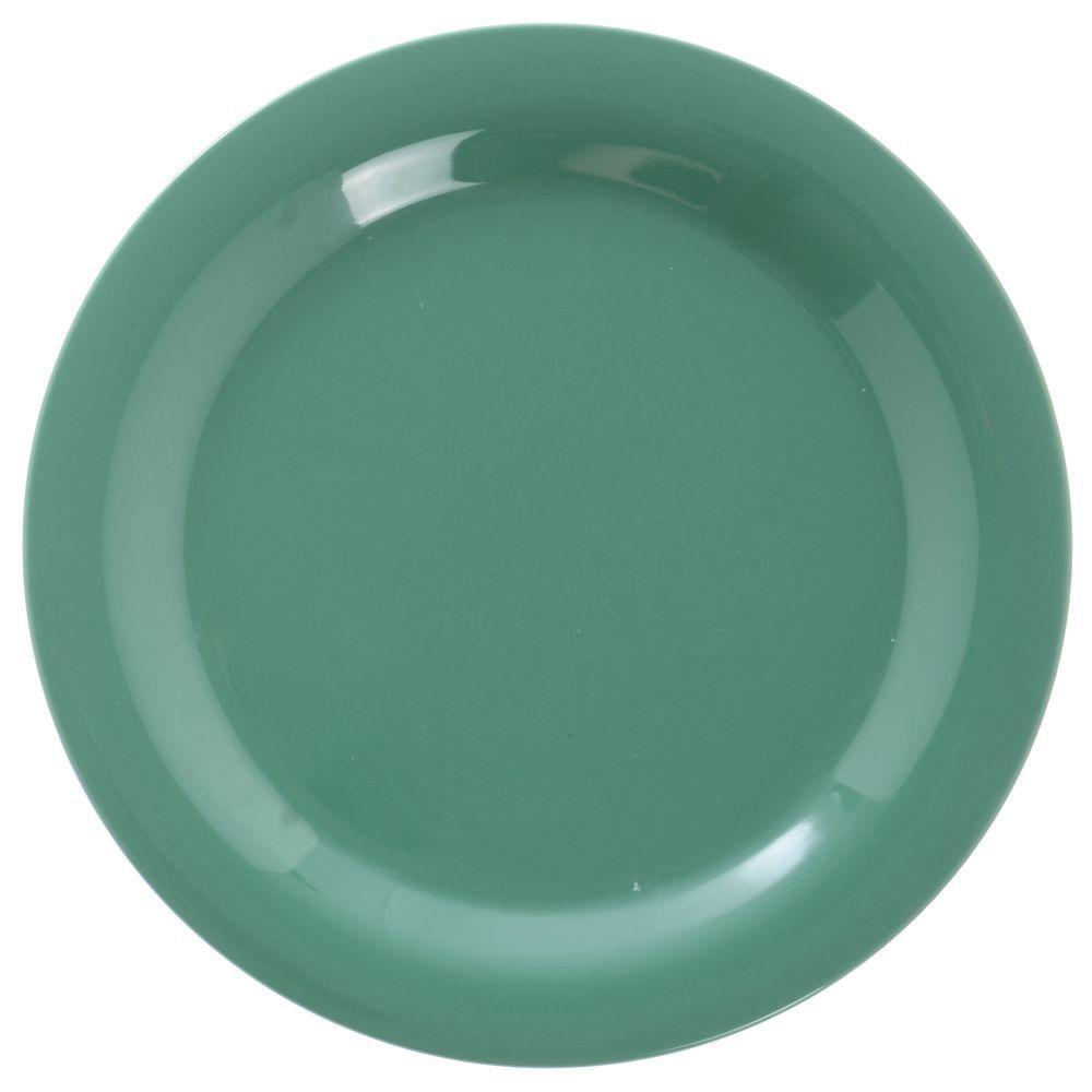 Carlisle Sierrus™ Meadow Green Melamine Dinner Plate - 10 1/2 Dia