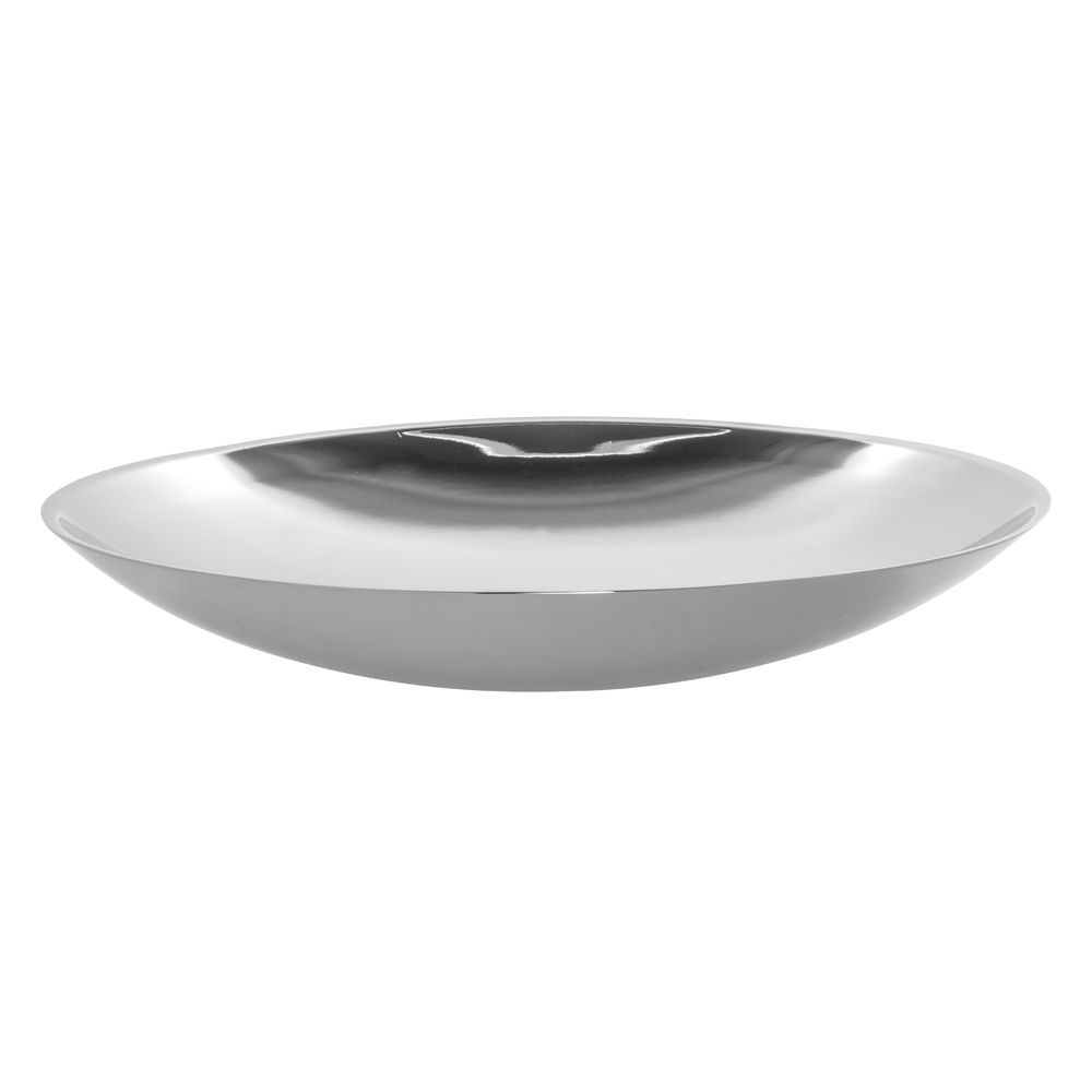 TRAY, ROUND, DOUBLE WALL, S/S, LARGE