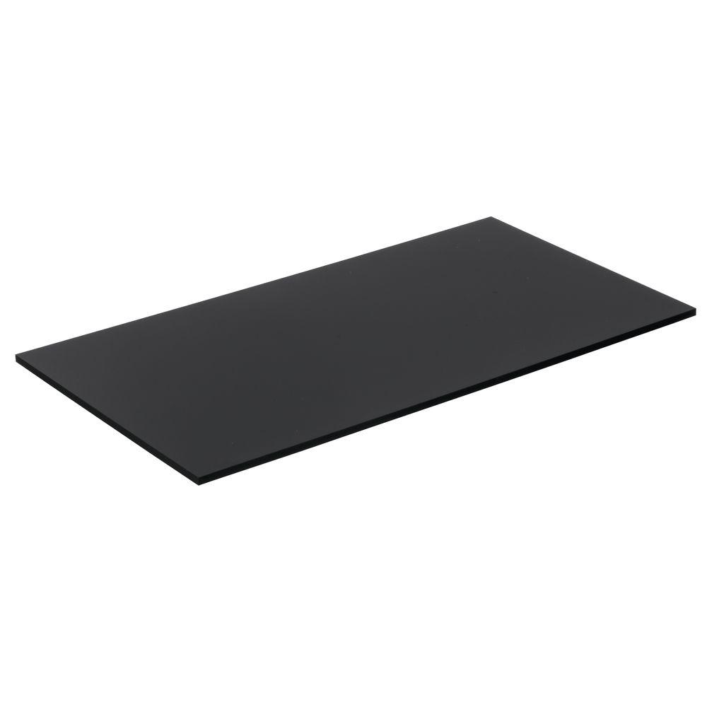 "Expressly Hubert® Black Acrylic Tray 15 1/2""L"