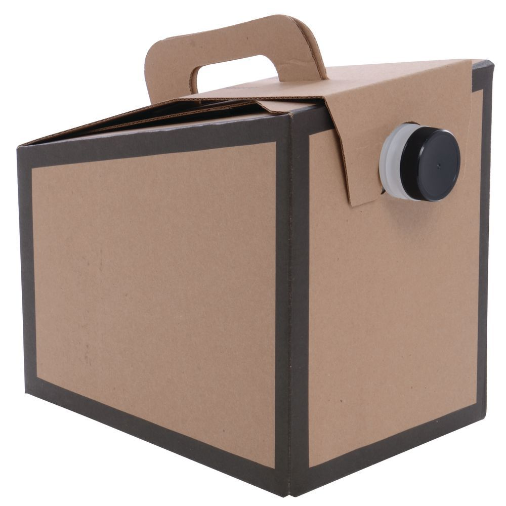 BOX, BEVERAGE, BORDER PRINT, 96 OZ