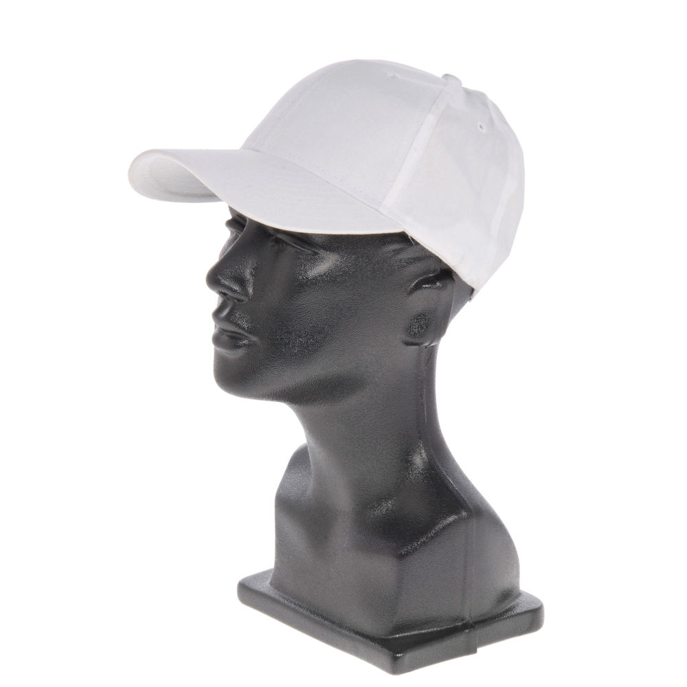 CAP, BASEBALL, LOW PROFILE, WHITE
