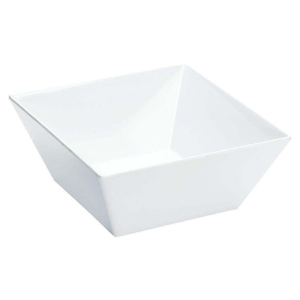 Melamine Diamond White 6qt Bowl
