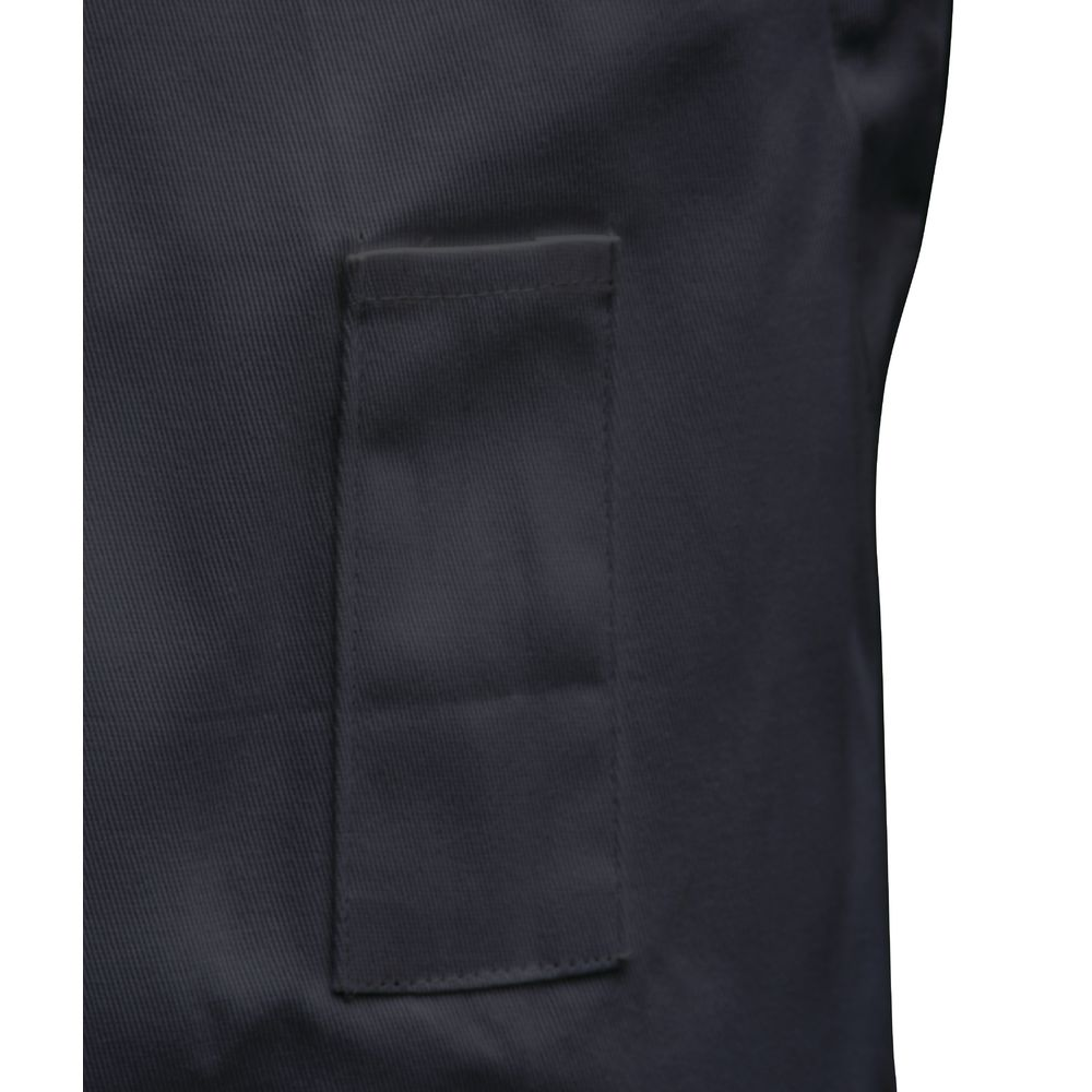 APRON, BIB, SELF-ADJUSTABLE, BLACK