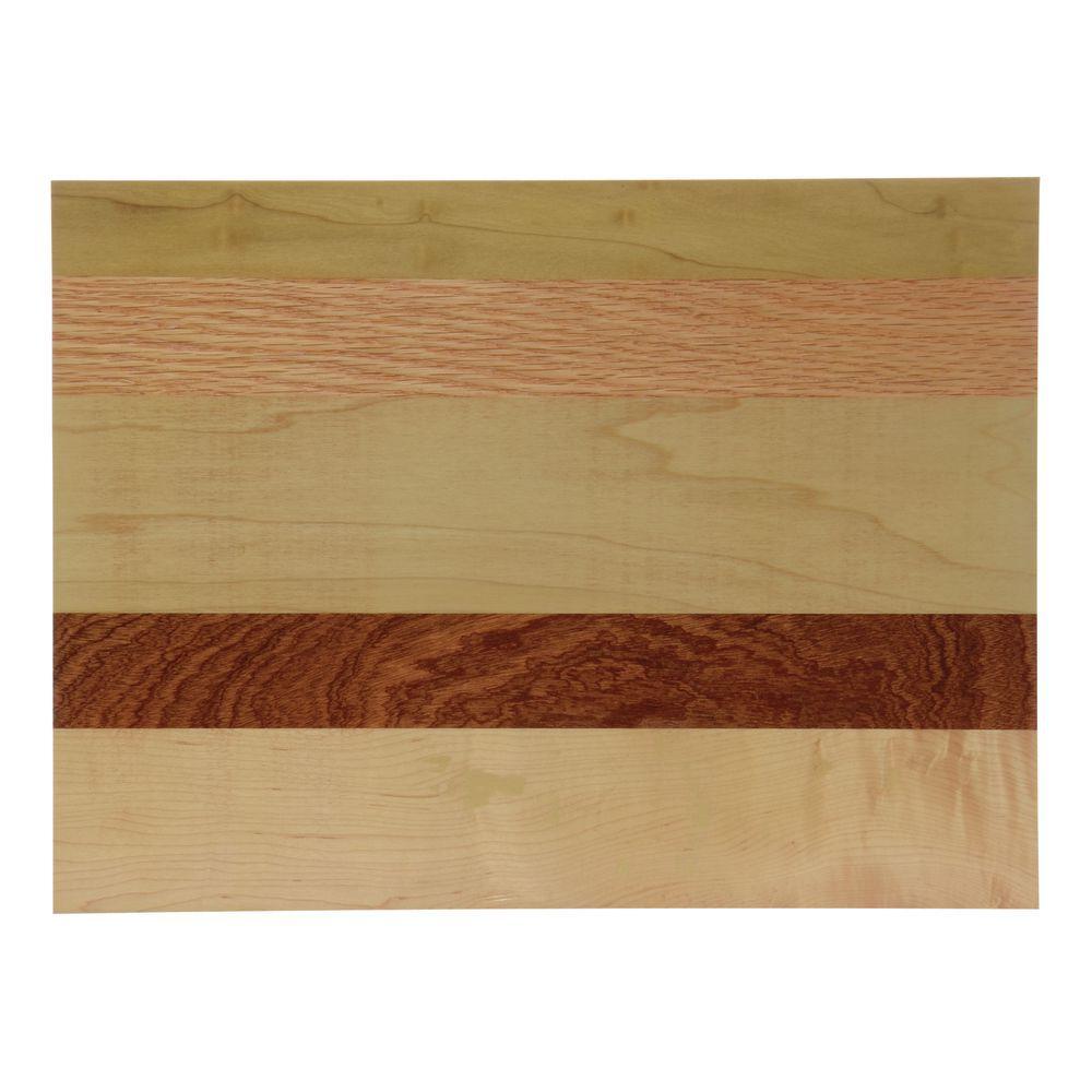 """Multi-Color Wood Riser 15""""L x 11""""W x 2.5""""H"""