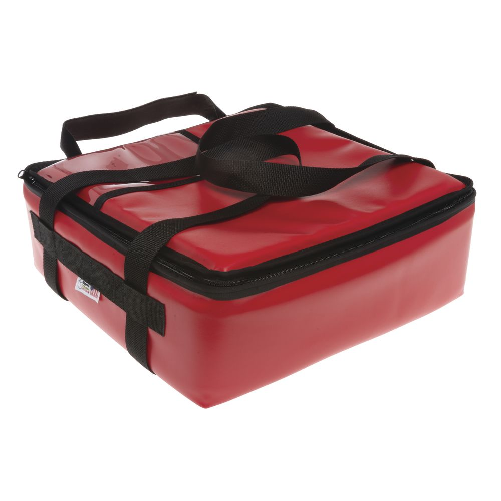 Sterno<sup>®</sup> Red Vinyl Insulated Breakfast Delivery Bag