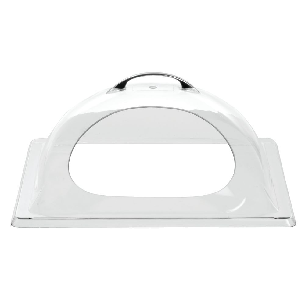 Domed Cover Allows Easy Access to Contents with One Side Cut-out