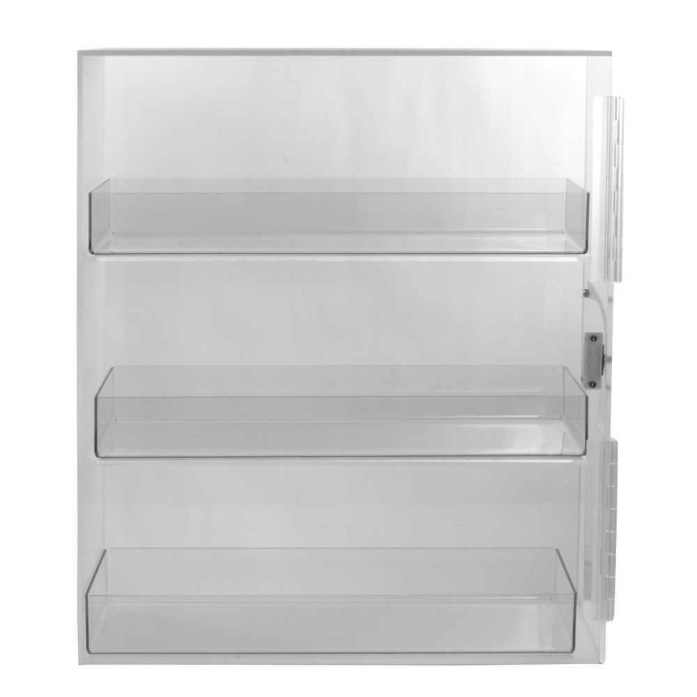 Interchangeable Bread Storage Container with Frosted Sides, Back and Top