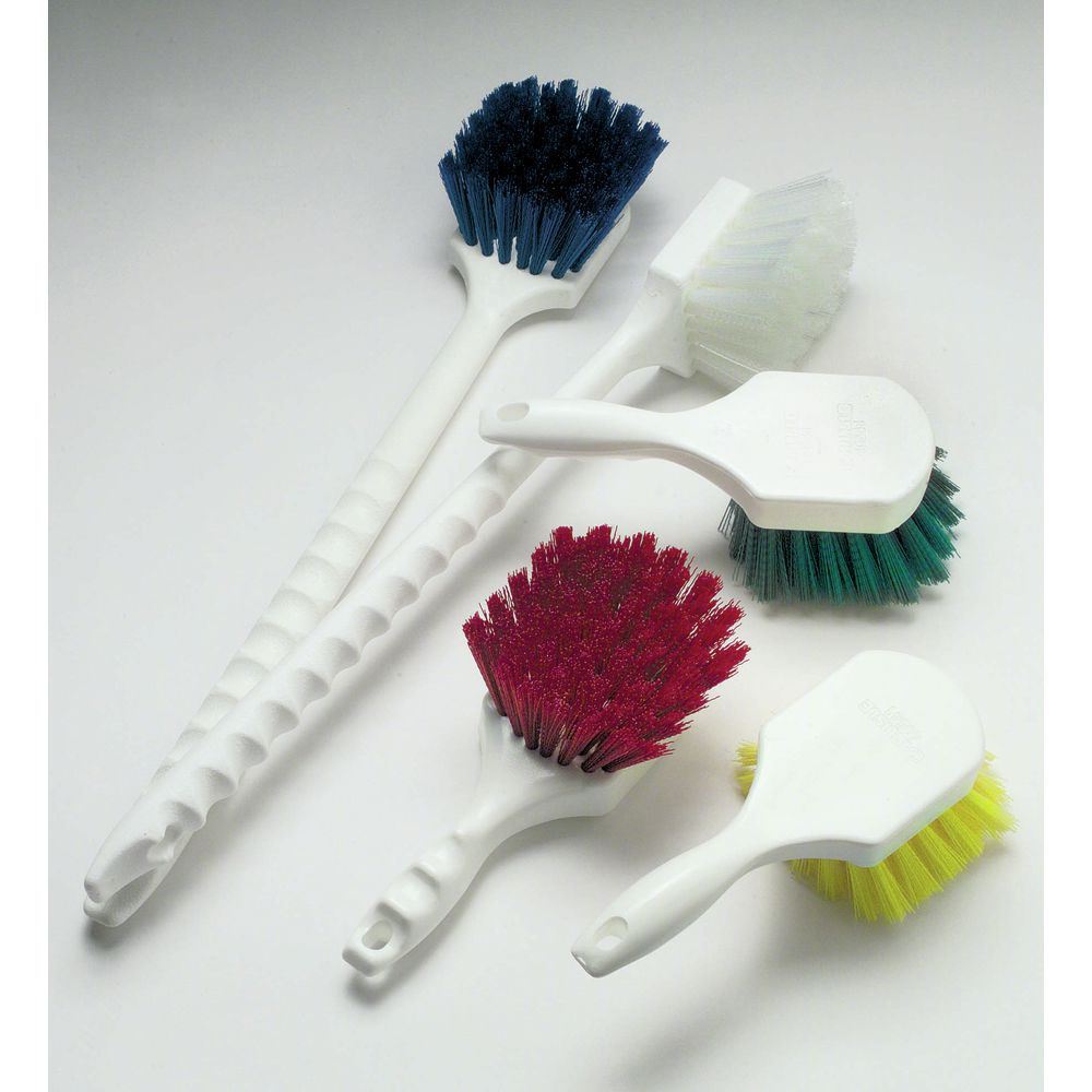 how to clean a hairbrush with plastic bristles