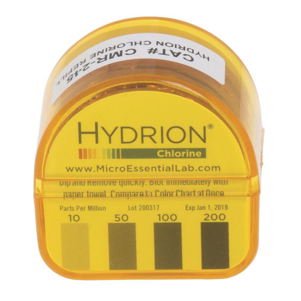 |Chlorine Test Strips Refills