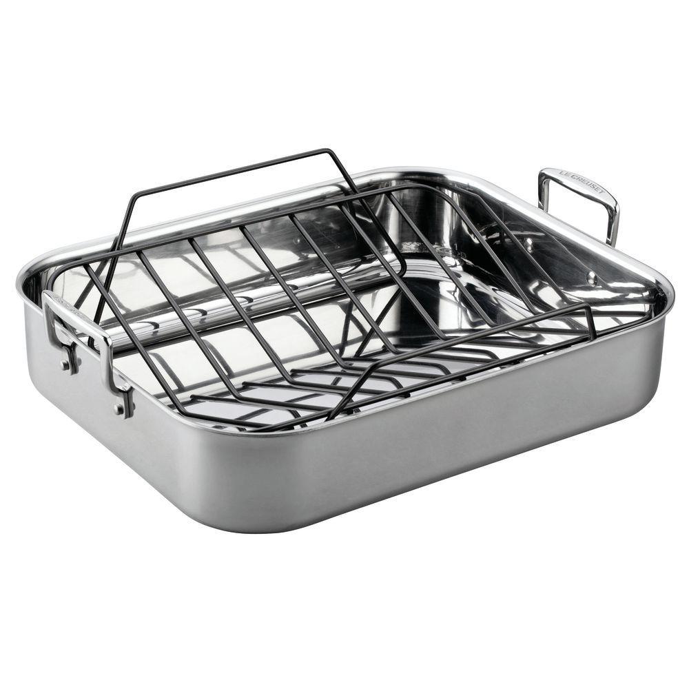 PAN, ROASTING, 3-PLY SET, 14.5X10.75X2.75