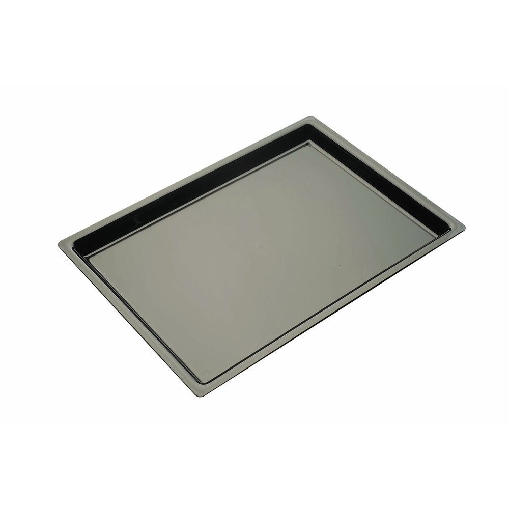 Large Black Serving Tray Holds A Lot of Different Products