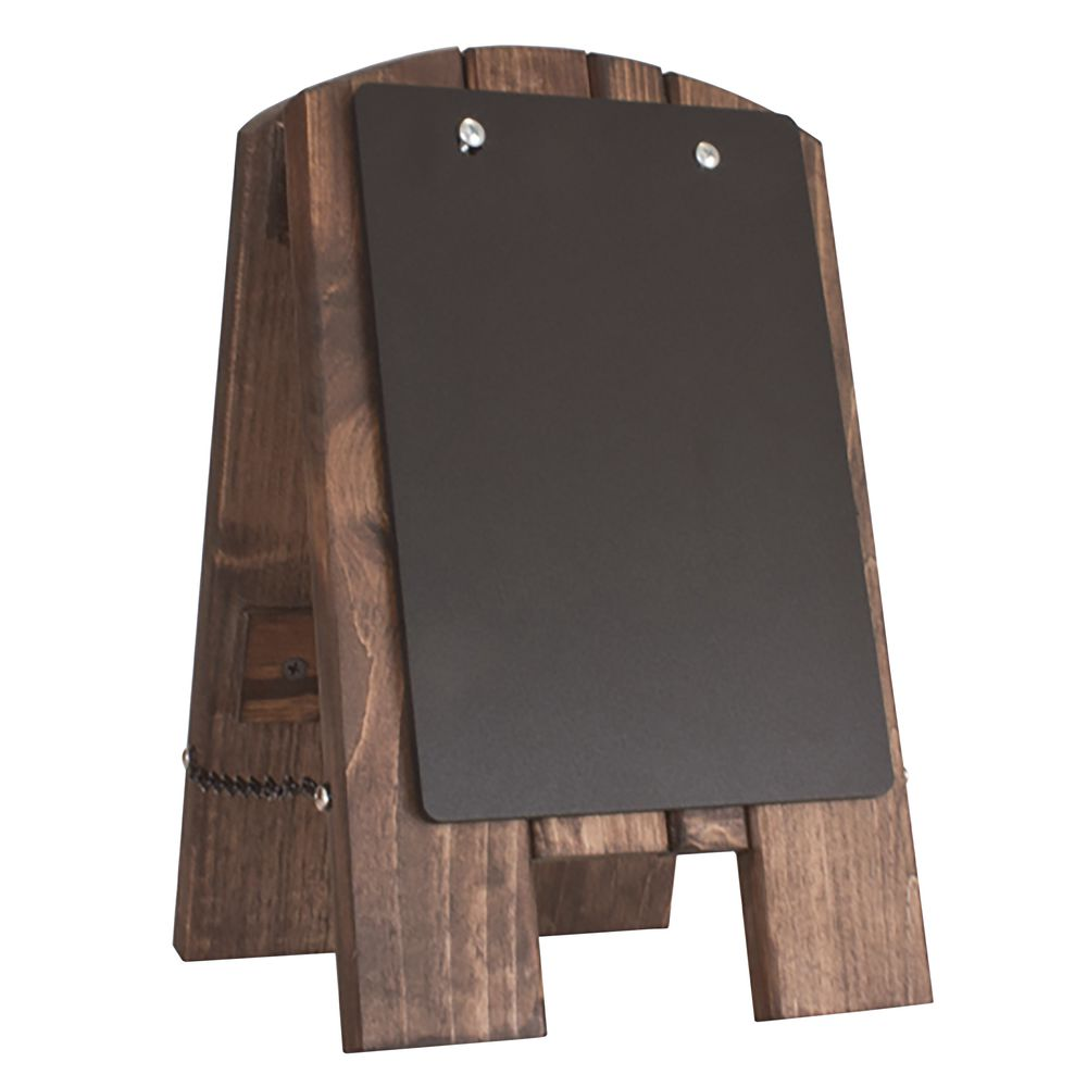 EASEL, COUNTER, W/REMOVBLE CHLKBRD, 9.5X13