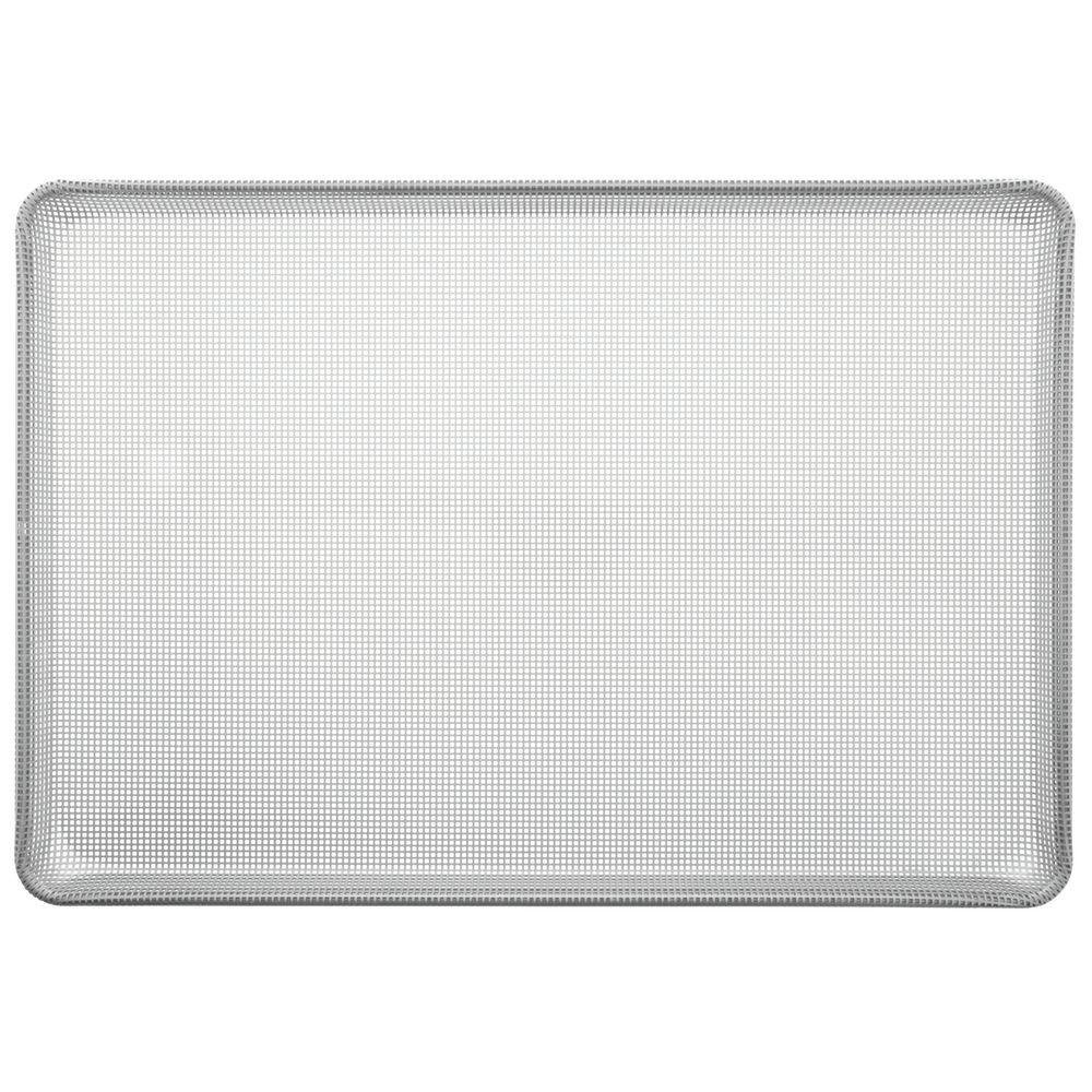 "Chicago Metallic Aluminum Baking Pan AmeriCoat Glaze Square-Peforated Full Size 26""L x 18""W 16 Gauge"