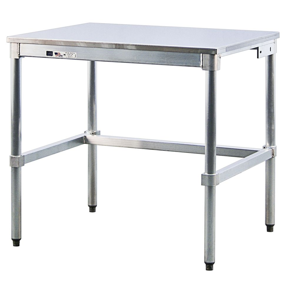 New Age Heavy Duty Stainless Steel Work Table With - 36L x 24W x 34H