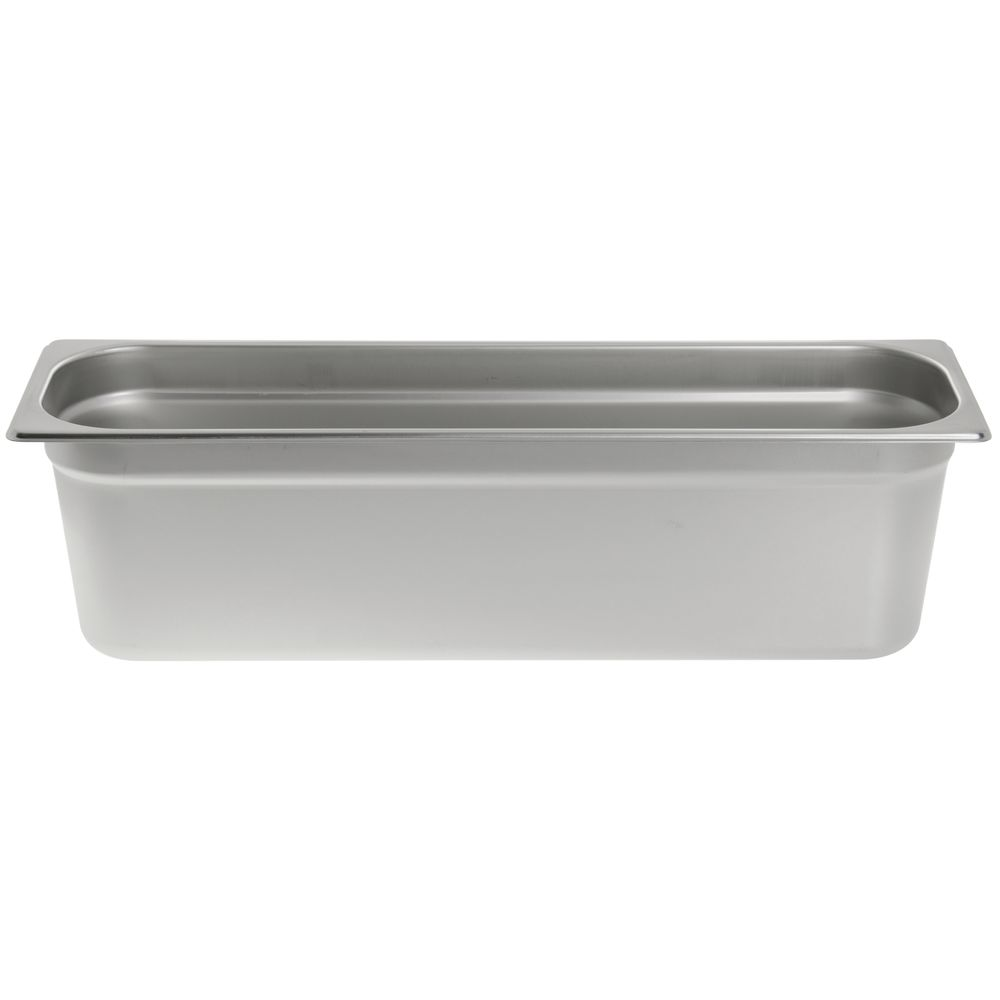 """Hubert® Stainless Steel Steam Table Pans 1/2 Size Long 6""""D