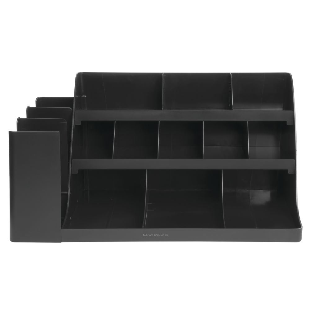 ORGANIZER, VANGUARD, 14 COMPARTMENT, BLACK