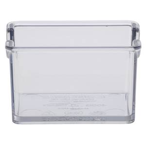 CADDY, SUGAR, CLEAR, HOLDS 20 PKTS.MELAMINE
