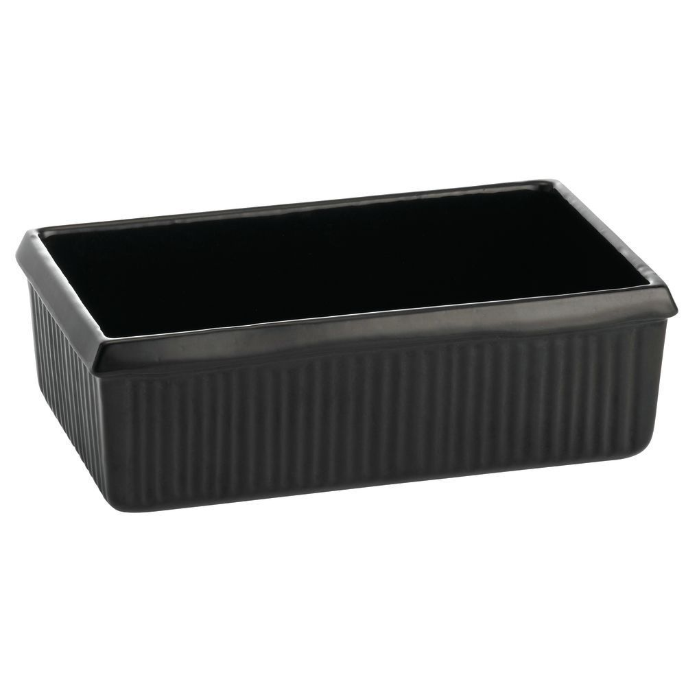 "SERVER, FLUTED, COATED ALUM, 10""L, BLACK"