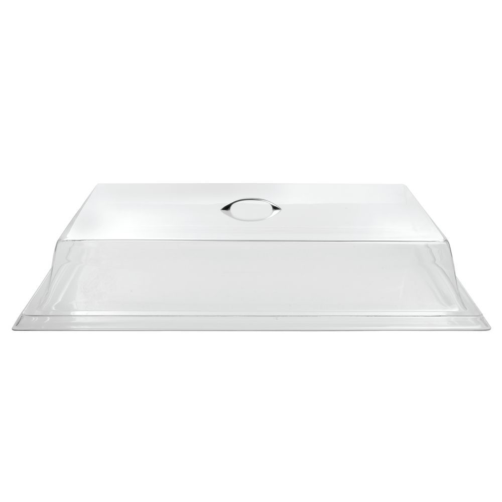 Spacious Rectangular Lid Covers Large Food Products