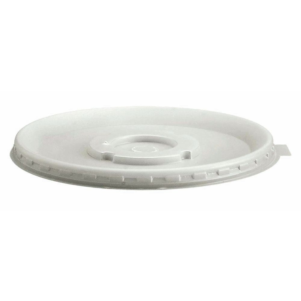 Meal Delivery System Large Disposable Lids Are White