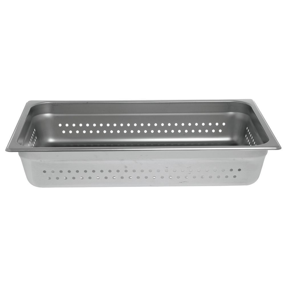 "Hubert® Full Size Steam Table Pan Perforated 4""D"