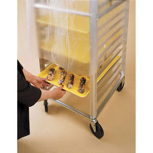 COVER, DISPOSABLE, PAN RACK, ROLL PK, .6MIL