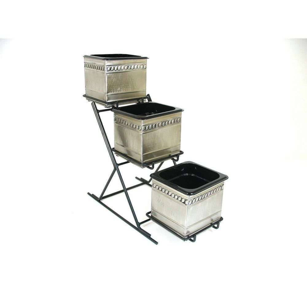 RACK, 3TIER, BLK WIRE FOR 1/6PAN + PITCHER