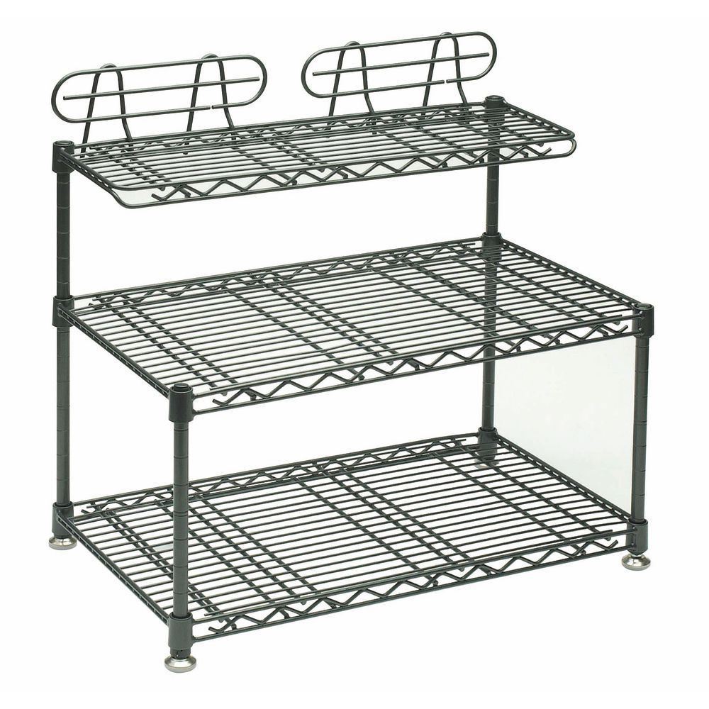 Wire Shelving Counter - Wire Data •