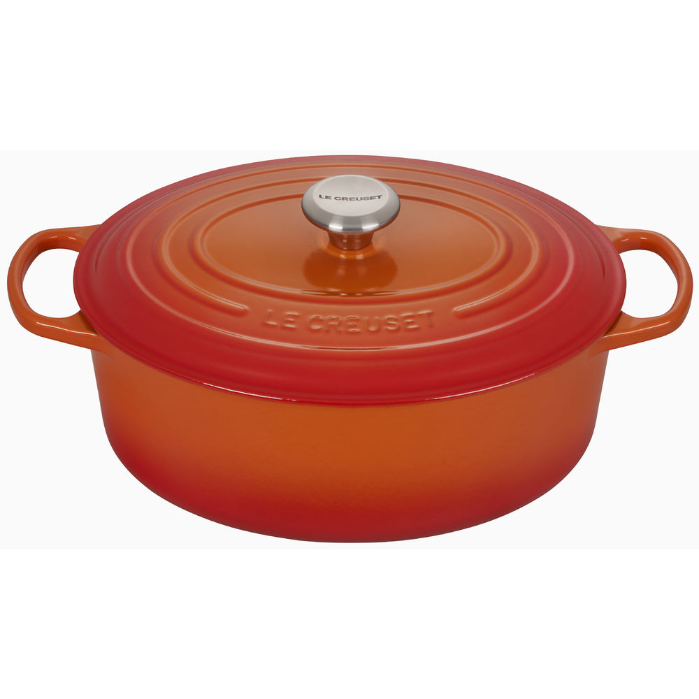 OVEN, FRENCH OVAL, FLAME, 2.75 QT, CAST