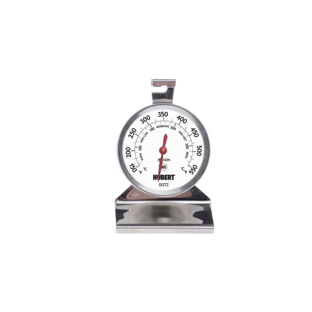 THERMOMETER, DIAL, OVEN, 150-550F, NSF