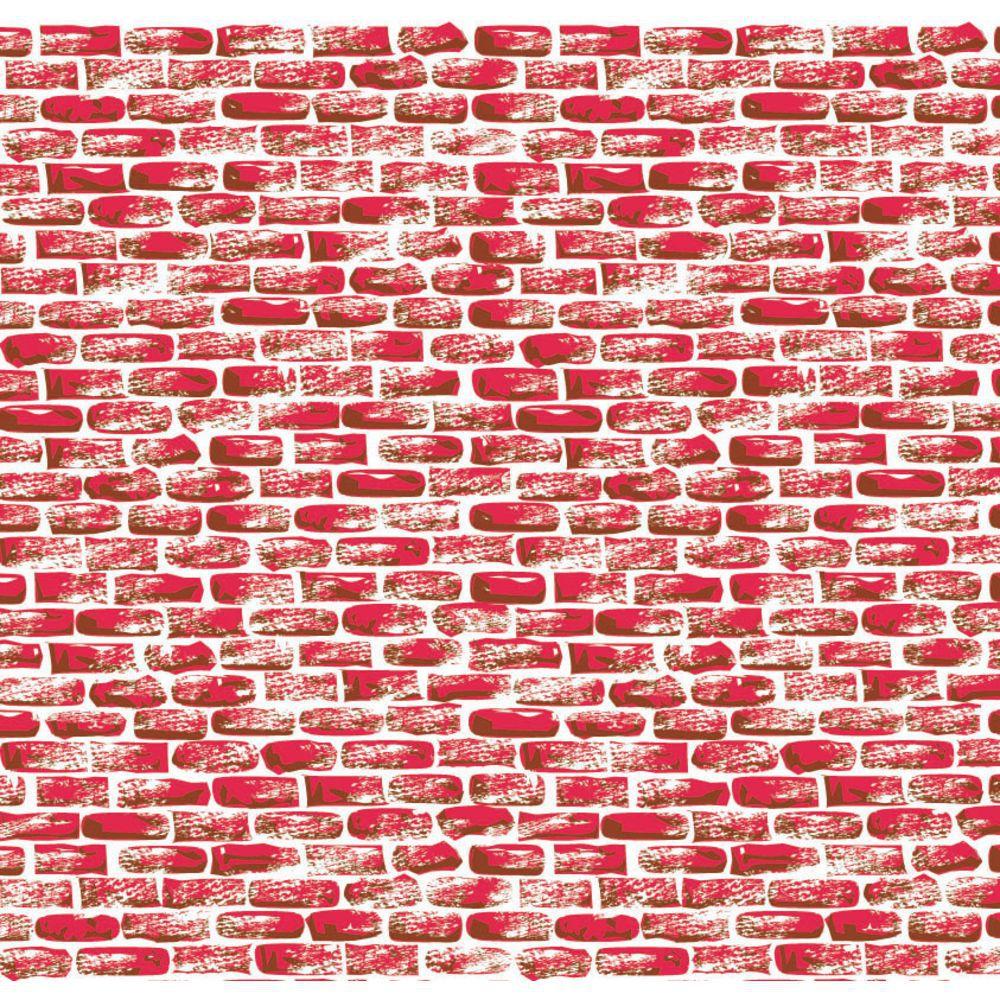 "Corobuff Valance Antique Brick Red 45'L x 8 1/2""W Corrugated Paper"