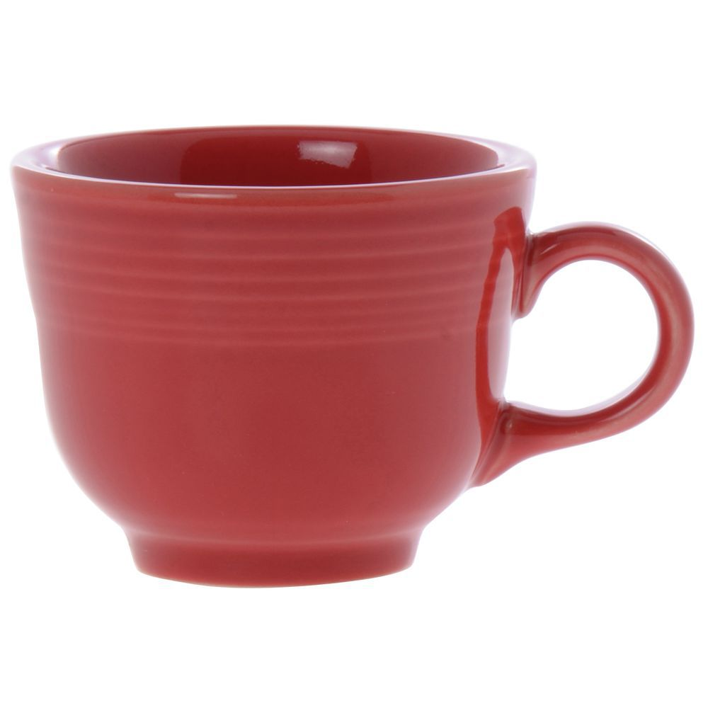 10beaac0d11 Homer Laughlin Fiesta® 7.75 oz Scarlet China Cup