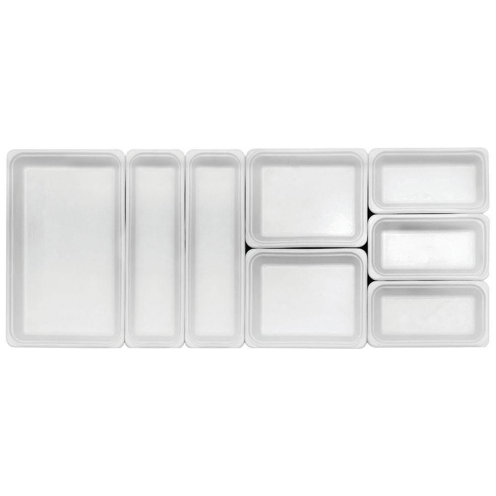 "Emile Henry Ceradon Ceramic Cookware 6.75 qt Full Size in White  20 3/4""L x  12 1/2""W x 2 1/2""H"