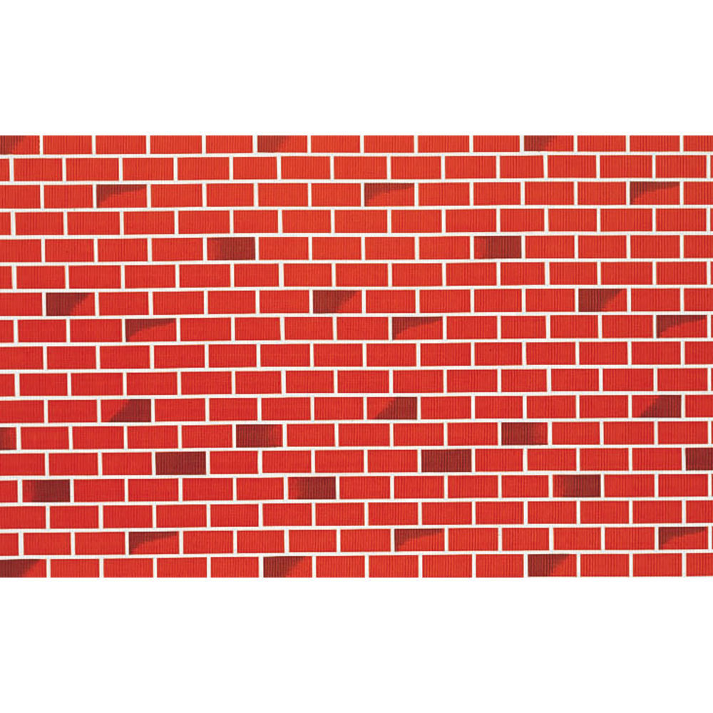 "Corobuff Awning Tu Tone Brick Red 25'L x 24""W Corrugated Paper"