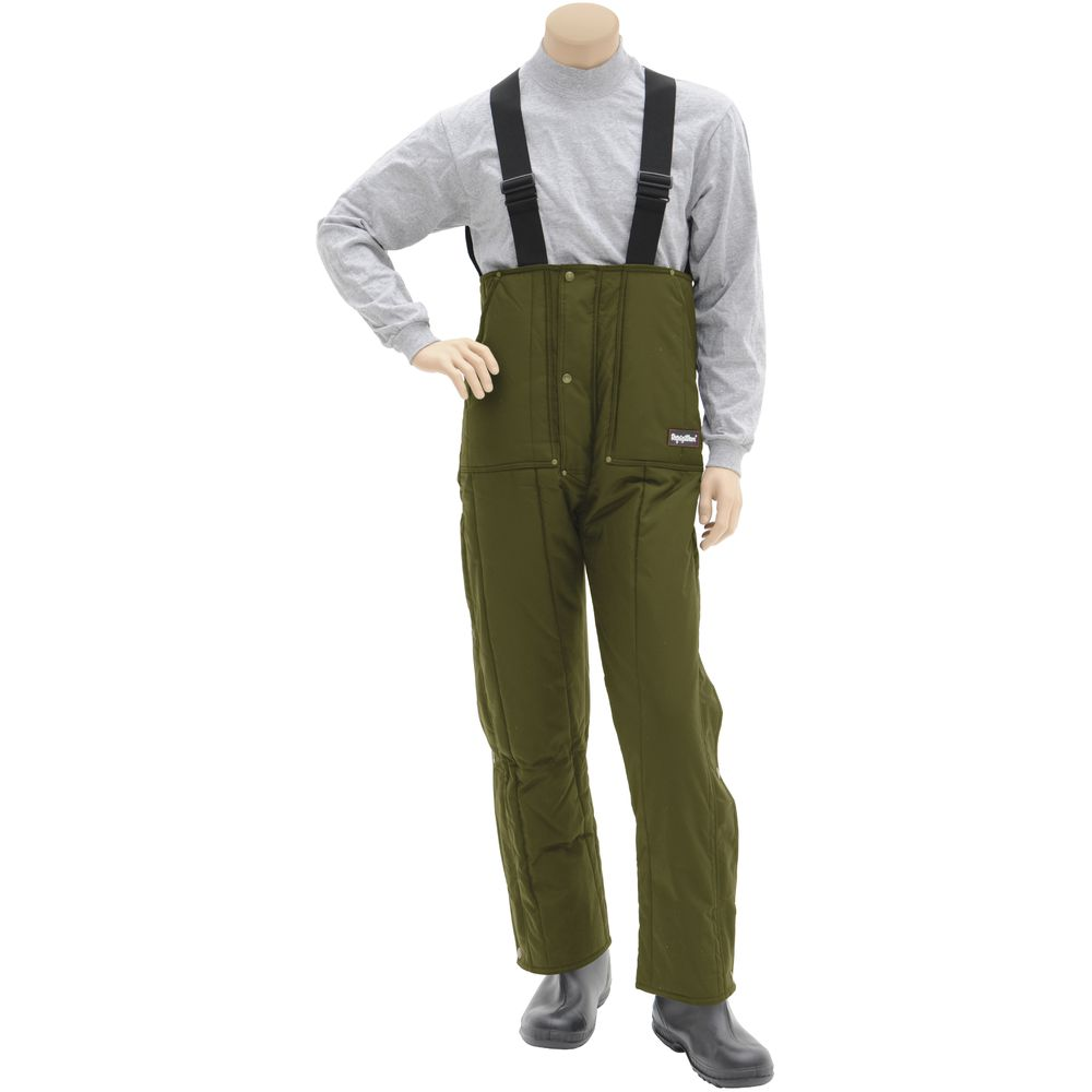 TROUSERS, INSULATED , GREEN, 2XL