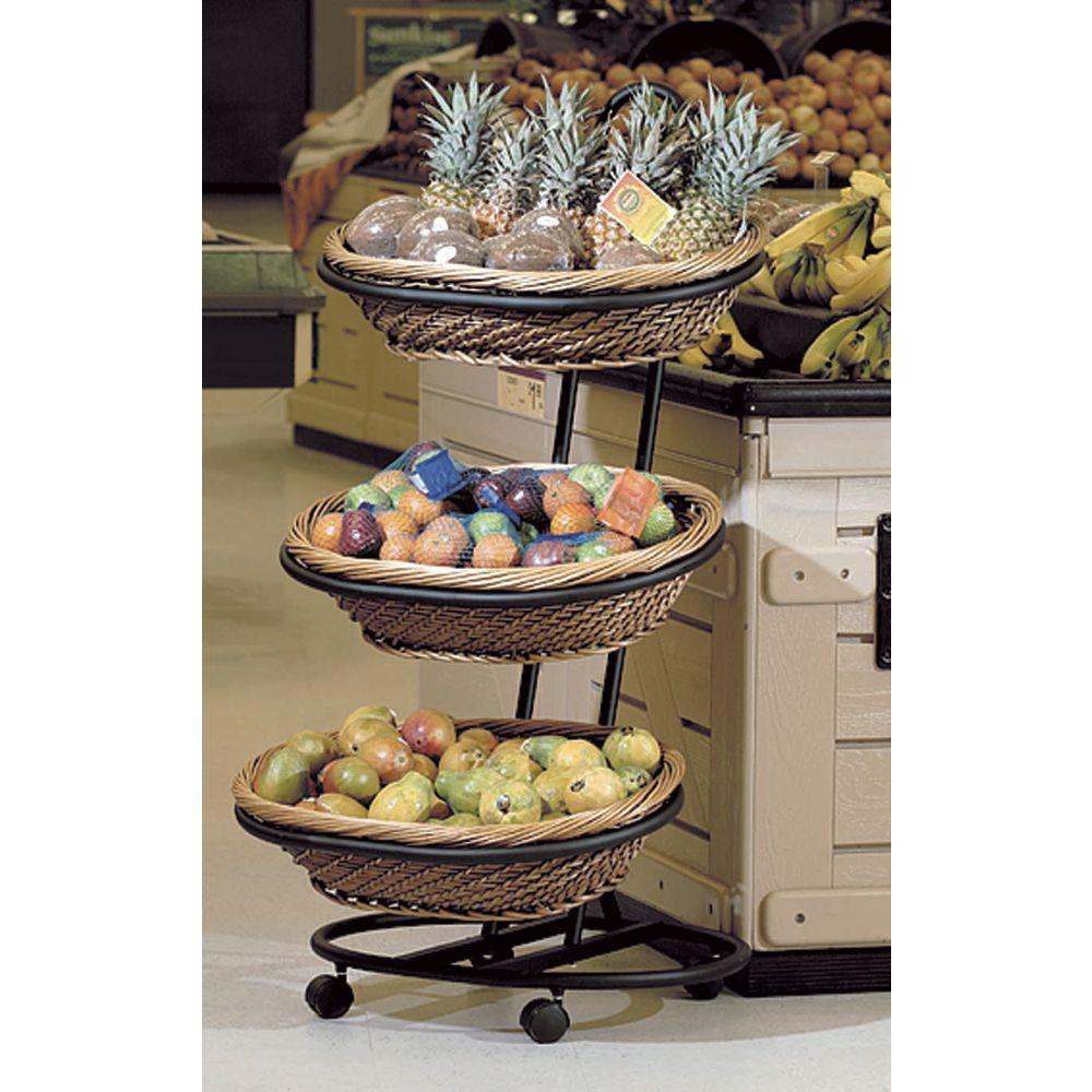 Moblie Merchandising Basket Stand .