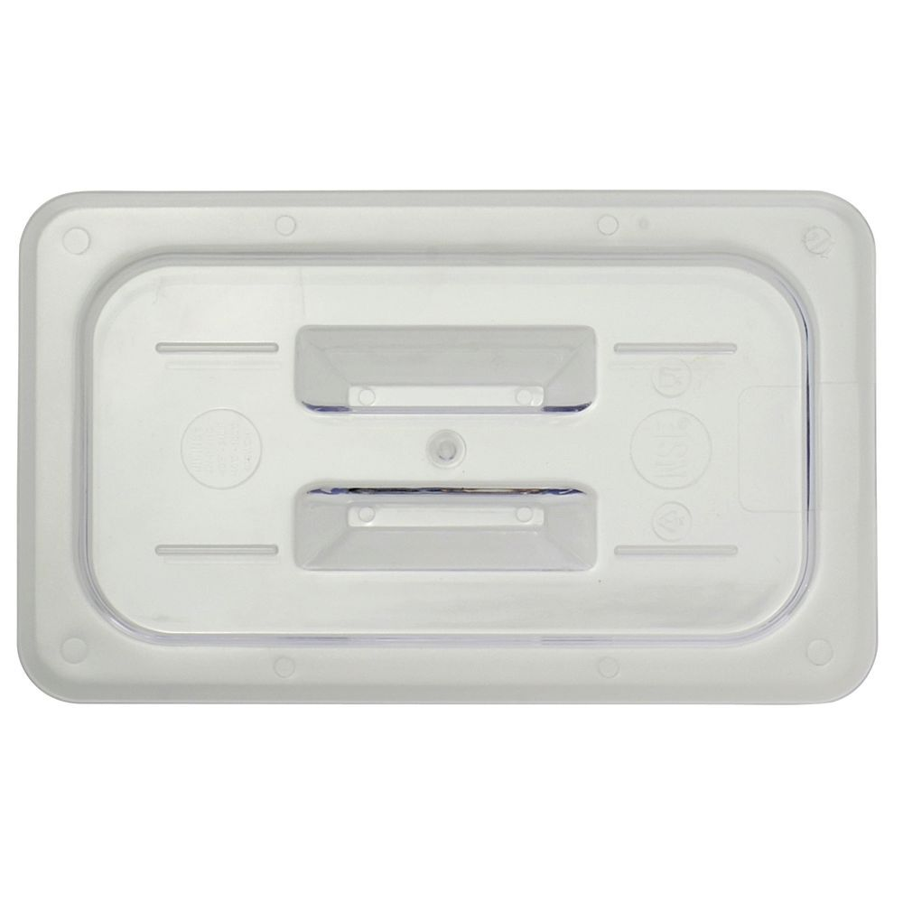 LID, SOLID W/HANDLE, 1/4 SIZE